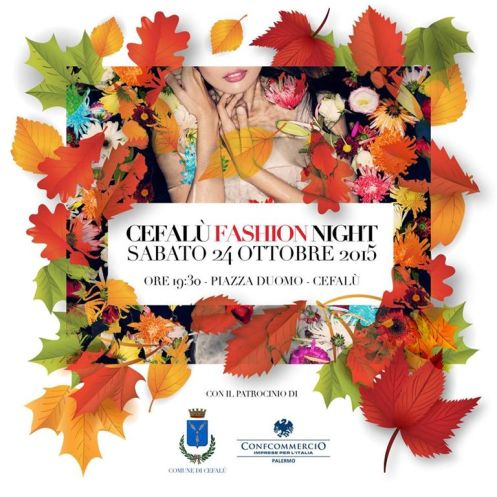 Locandina Cefalù Fashion Night